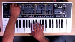 Roland Gaia SH-01 - Synth Bass