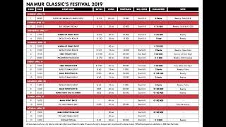 Main Event Day 1A - Summer Festival - Grand Casino de Namur