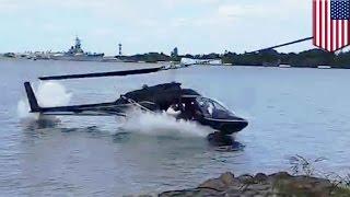 Download Video helikopter jatuh tepat di depan pria, terekam kamera  - Tomonews MP3 3GP MP4
