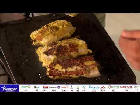 ஏழாம் சுவை - எலுமிச்சை தவா மீன் வறுவல் / Lemony Fish Fry Recipe