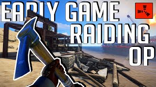 EARLY GAME RAIDING Cąn Be SO OP For RUST SOLO Players! - Rust Solo Survival (2/3)