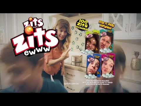 Zits Pop n Play Pimples Toy Commercial - I Got Zits - Crazy Mum