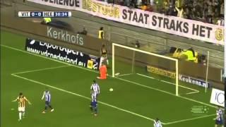 Vitesse 2-2 Heerenveen (2013/14) Goal Mike Havenaar