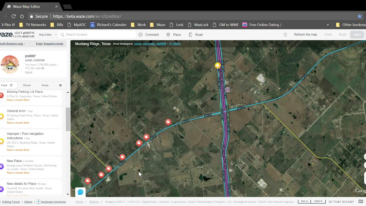Waze Map Editor Google Chrome 9 28 2017 4 51 31 AM