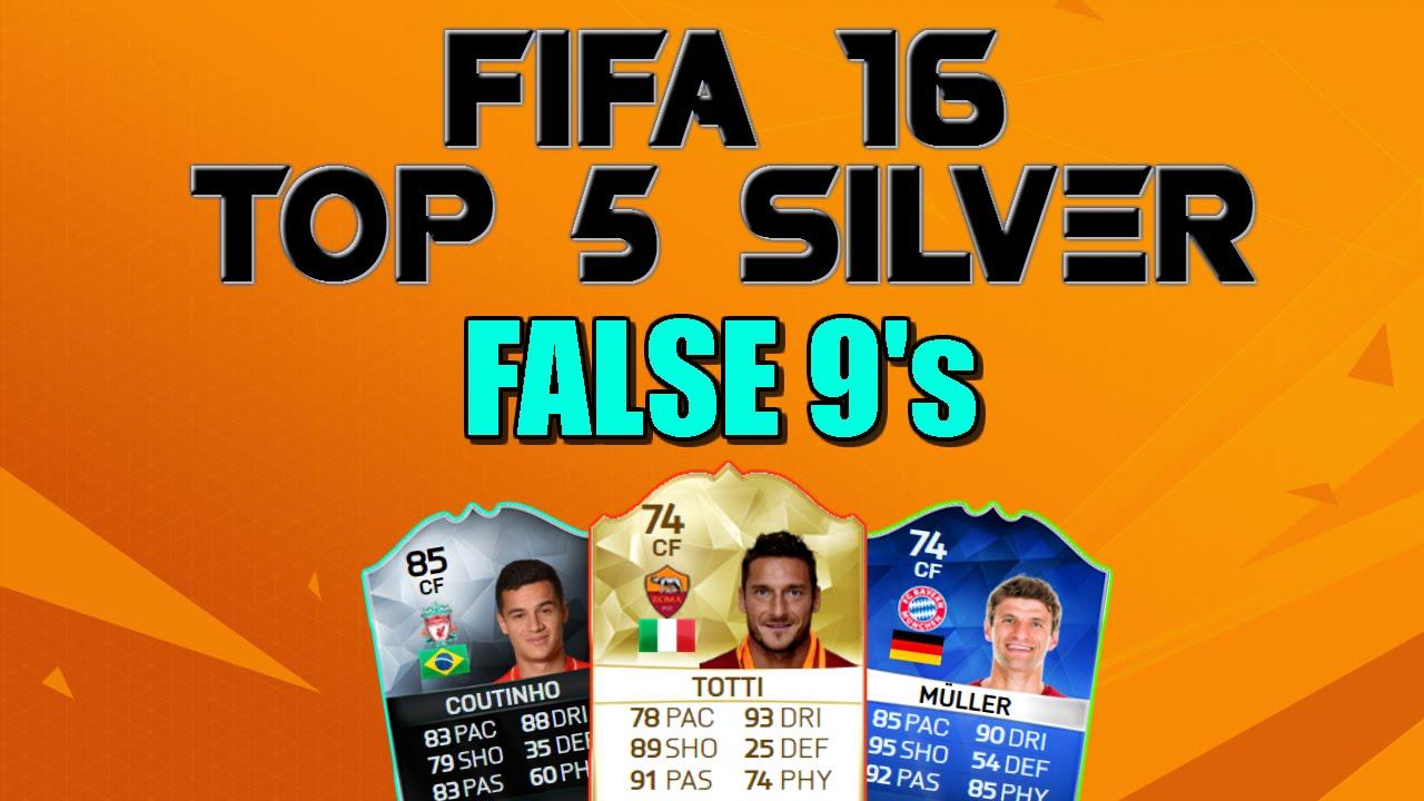 Fifa 16 - TOP 5 SILVER - False 9s
