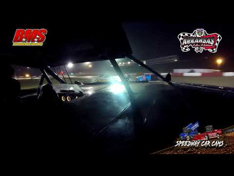 #20R Jamie Rowan - Kajun Mini Stock - 9-15-18 Batesville Motor Speedway - In Car Camera