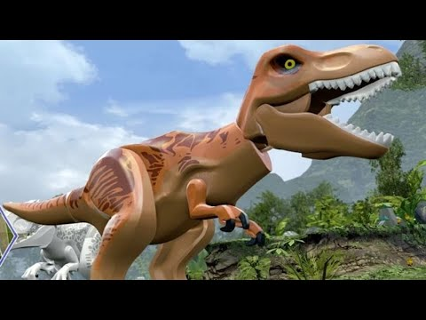 Thumbnail: LEGO Jurassic World - All Dinosaurs Unlocked - A Look at all Playable Dinosaurs