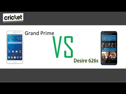 Samsung Galaxy Grand Prime VS HTC Desire 626s (for cricket wireless )