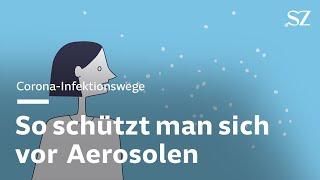 So schützt man sich vor kontaminierten Aerosolen