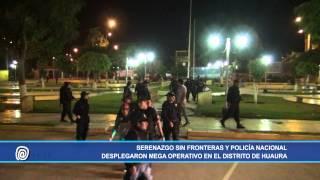 NP   278 Serenazgo Sin Fronteras incursionó en el distrito de Huaura