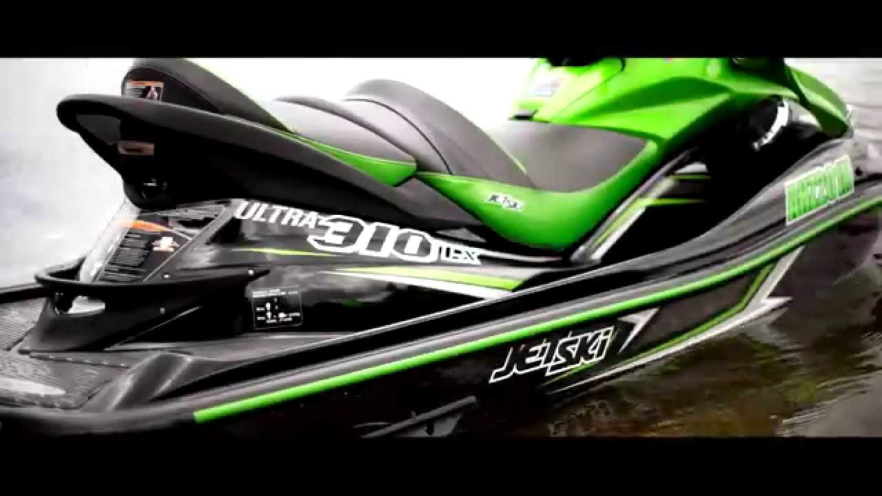 2015 Kawasaki Ultra 310LX/R Jet Ski Promo Video - YouTube