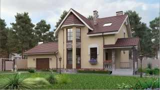 Проект загородного дома площадью 154,9 кв.м. (Mr Stone M1)(Полный проект по этой ссылке: http://homespro.ru/mr-stone-a3/, 2014-10-12T15:31:31.000Z)