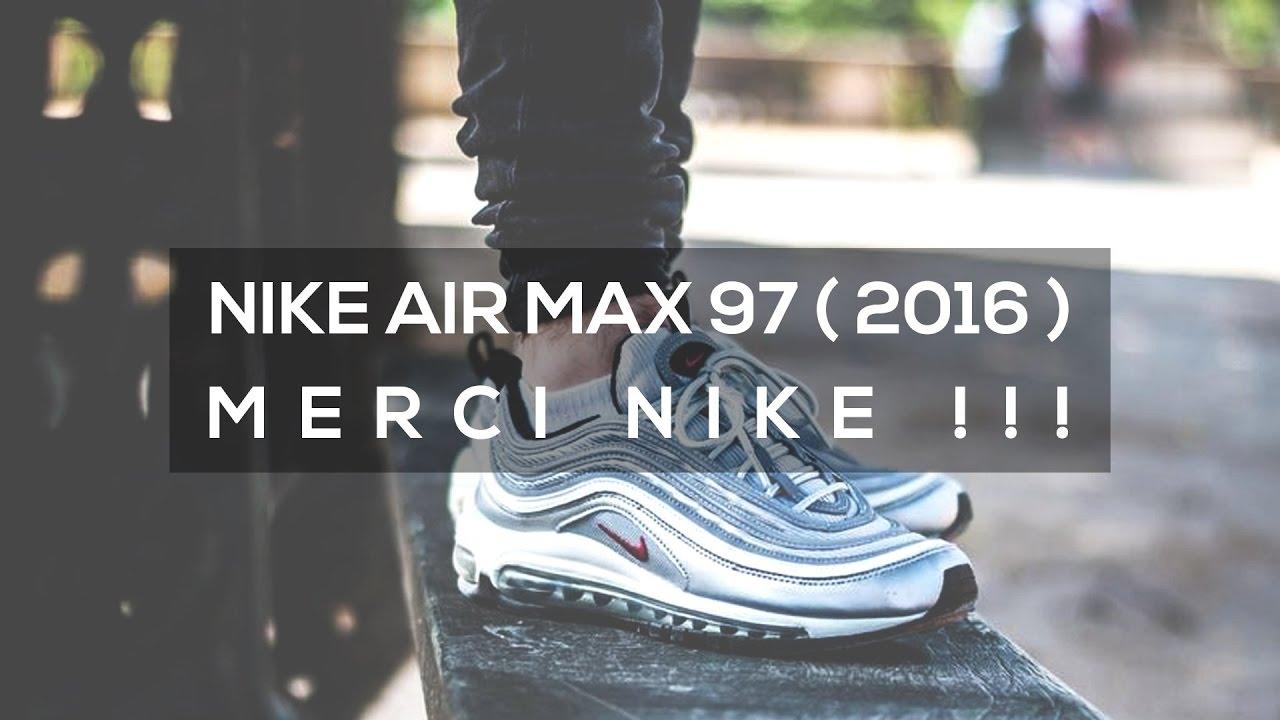 unique design 100% genuine new lifestyle Nike Air Max 97 OG (2016) | MERCI NIKE !!!