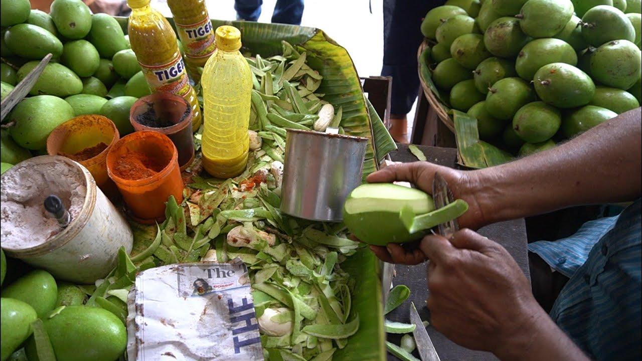 KACHA AAM MASALA: Yummy Green Mango Masala Summer Special  Food  | Indian Street Food