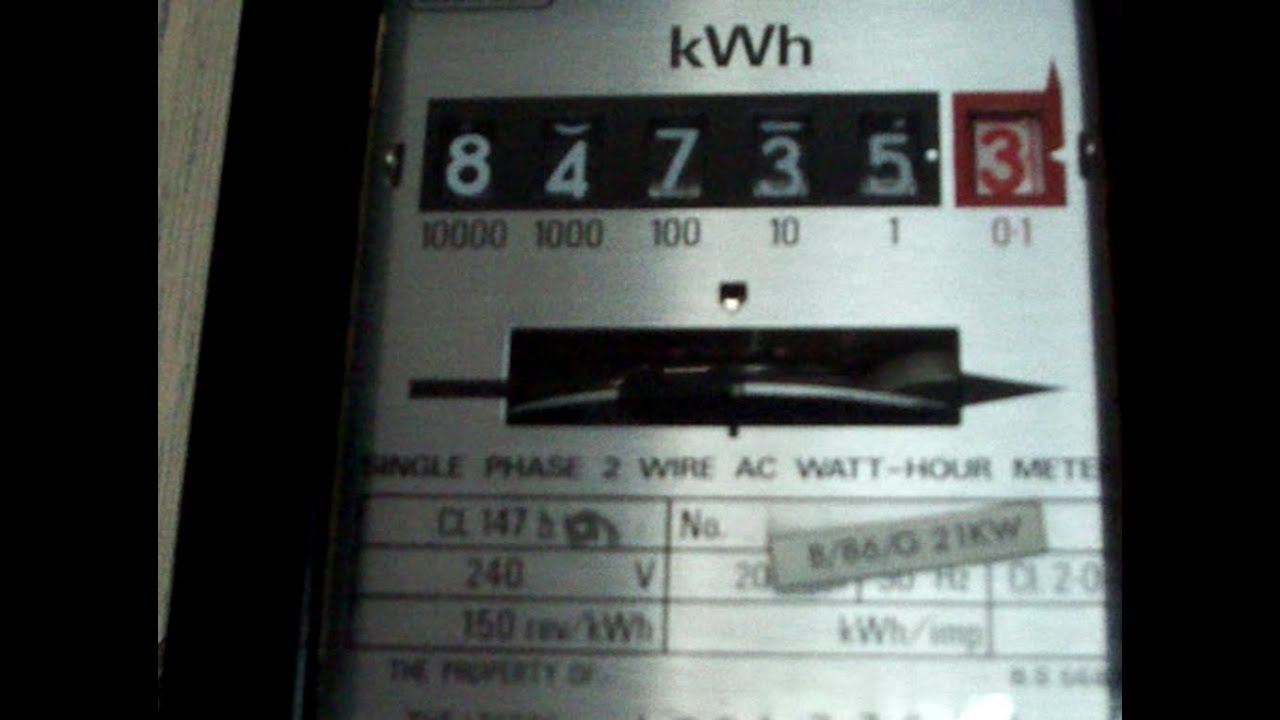 Electricity Meter Accuracy Test Landis Amp Gyr Cl 147h