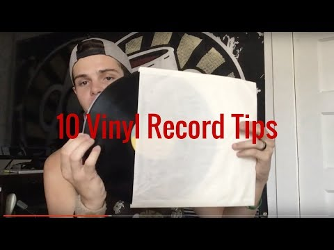 10 Tips For Caring For And Storing Vinyl Records