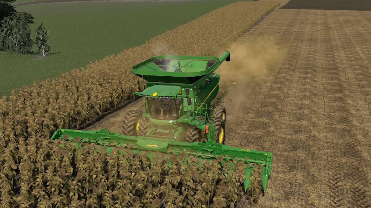 Lone Oak EP#106 | Harvest, Slurry, Planting | FS19 Timelapse | Farming Simulator 19 Timelapse
