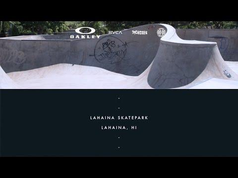 Curren Caples | On Location: Lahaina Skatepark - Lahaina, HI