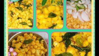 Crispy Corn Recipe/Tea Time Snack ~ The Mvf Kitchen/Masala Corn Sabzi Recipe/Dum Makai Masala Recipe
