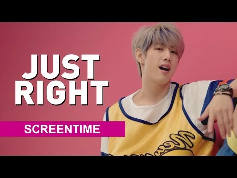 [Screen Time Distribution] GOT7 - Just Right (딱 좋아) COLLAB W/ TAEINS