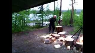 колка дров