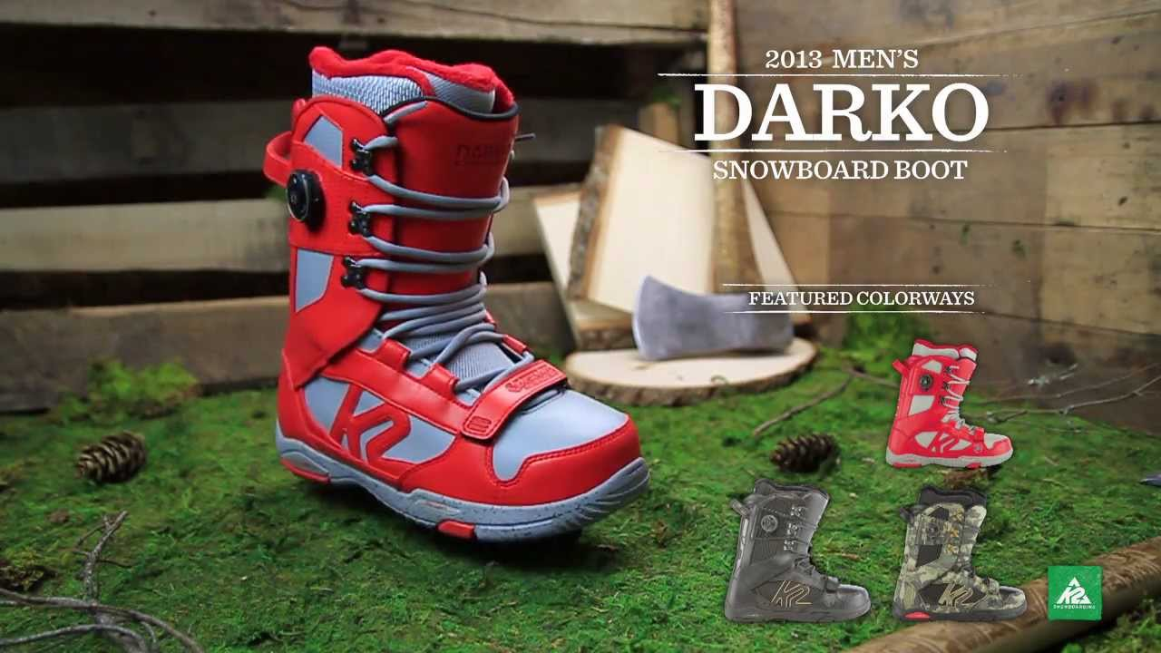 K2 Darko Boot 2013 Product Video