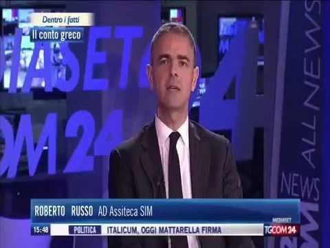 Intervista Roberto Russo Assiteca SIM 6 maggio 2015