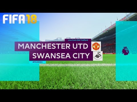 FIFA 18 - Manchester United vs. Swansea City @ Old Trafford