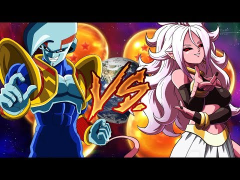 Starter Baby VS Android 21 - Dragon Ball Super Card Game