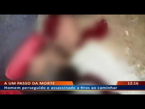 DFA - Homem perseguido e assassinado a tiros ao caminhar