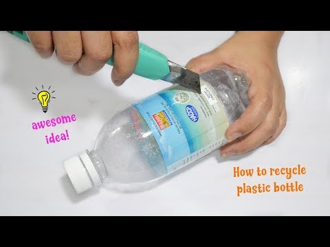 Super cute and awesome recycled idea with plastic bottle|how to recycle plastic bottle best reuse