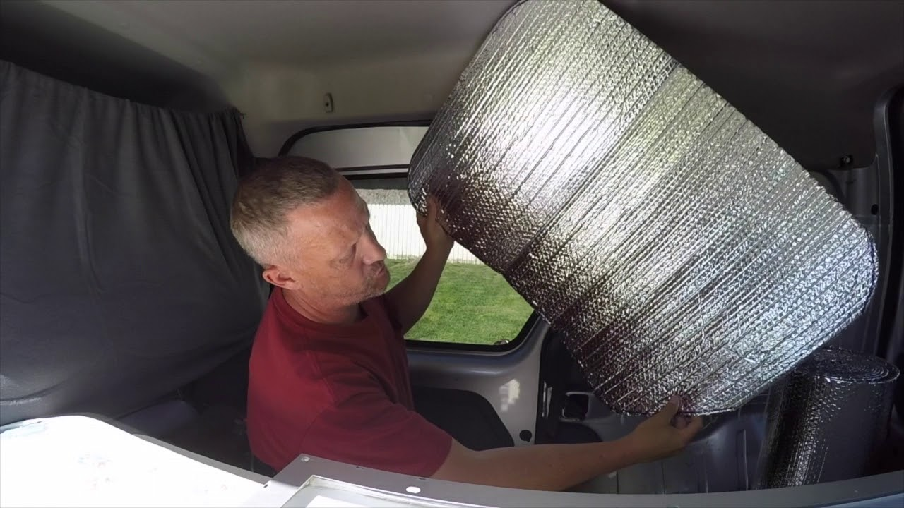 Ford Transit Connect Camper Conversion Window Coverings Youtube