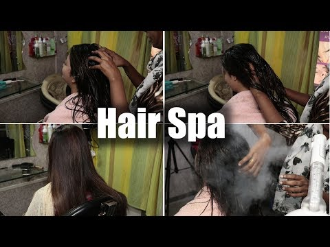 Professional Hair Spa At Home