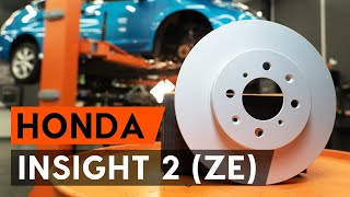 Wie HONDA INSIGHT (ZE_) Blinker Lampe austauschen - Video-Tutorial