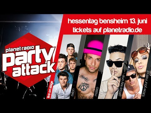 planet radio party attack 2014 in bensheim