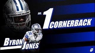 Byron Jones, number one cornerback