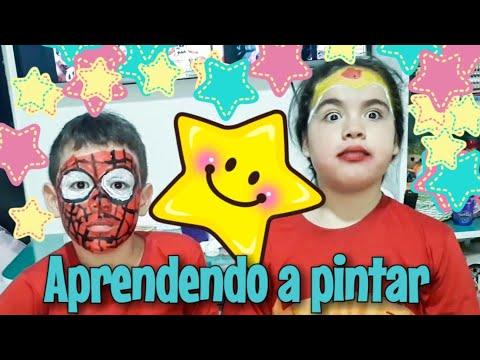PINTANDO O ROSTO 02