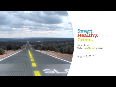 Solar Roadway On Route 66? | Smart. Healthy. Green. News from Sabine's New House
