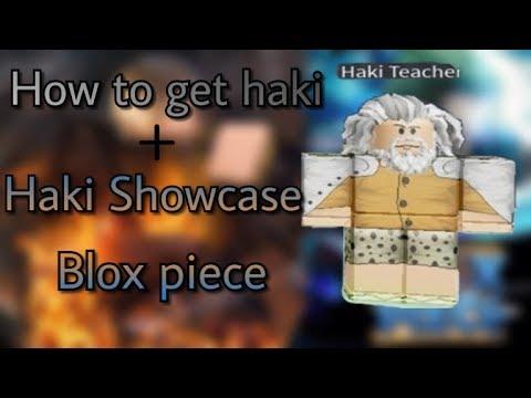How To Get Haki + Haki Showcase | Blox Piece | Roblox