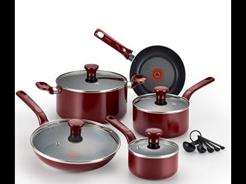 Unboxing: T-fal 14pc EXCITE Nonstick Thermo-Spot Cookware