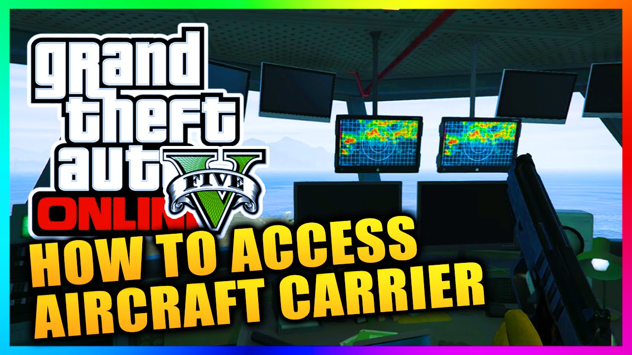 GTA Heists DLC How To Access The HYDRA Aircraft Carrier Outside - Location of us aircraft carriers map