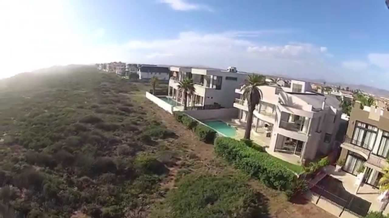 FPV Quad - South Africa, Cape Town Sunset Beach - The Houses