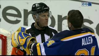Yeo is glad Allen made the no mask save, but thinks he