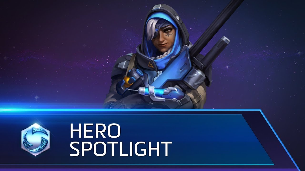 Ana Spotlight Heroes Of The Storm