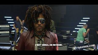 Les coulisses des répètes avec Lenny Kravitz (2018)