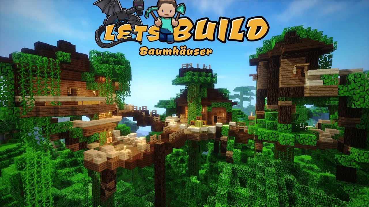 Fantastisch Charmant Minecraft Baumhaus Bauen! | German Tutorial | FullHD YouTube