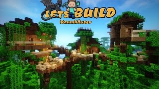 Minecraft Baumhaus bauen! | German Tutorial | FullHD
