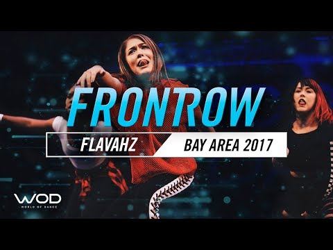 Flavahz Crew (Angel Gibbs, Tam Rapp & Ti Rapp)   FrontRow   World Of Dance Bay Area 2017   #WODBAY17