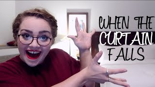 When The Curtain Falls | COVER REVEAL!