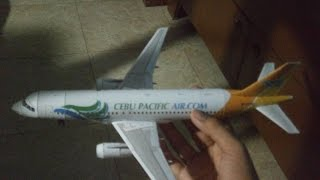 Cebu Pacific A320 Papercraft